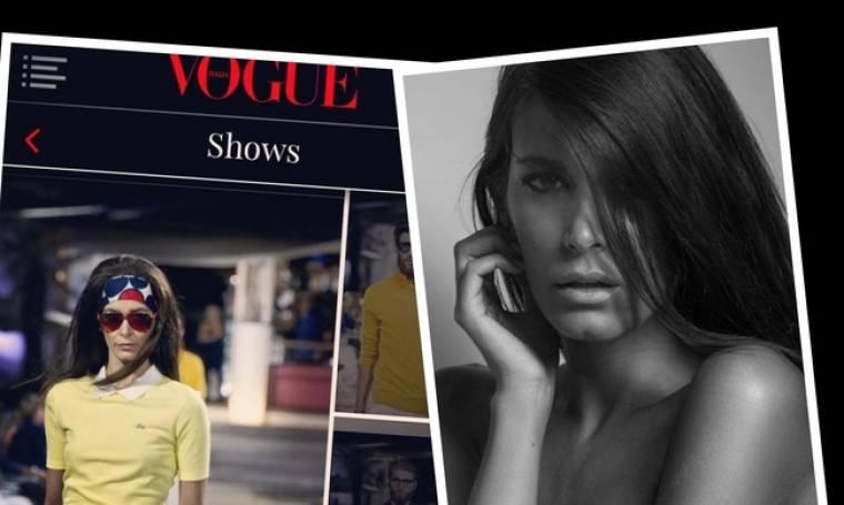 """Η εξομολόγηση Ελληνίδας μοντέλου της Vogue. """"Είχα φτάσει 47 κιλά με ύψος 1,79"""" (Nassos blog)"""