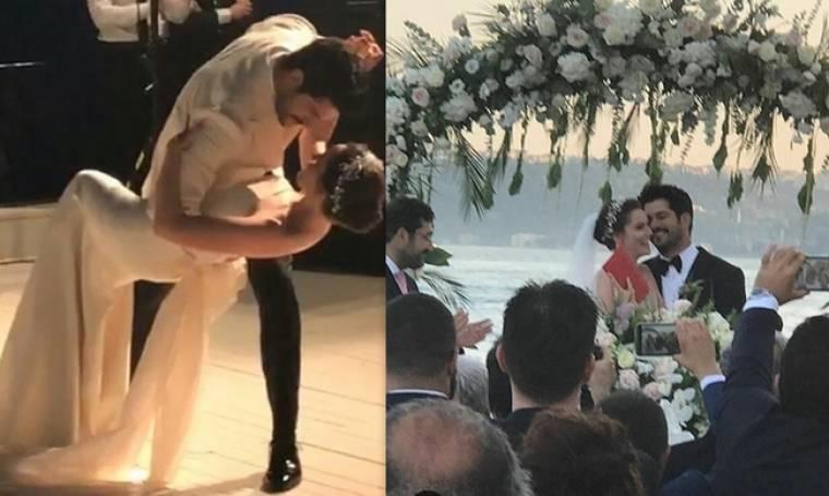 Παντρεύτηκε ο Κεμάλ του «Kara Sevda»  - Οι πρώτες φωτογραφίες του λαμπερού γάμου