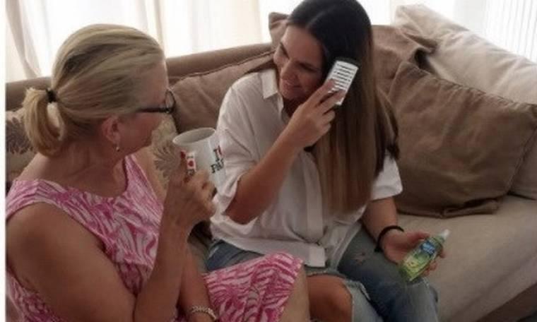 Ελιάνα Χρυσικοπούλου: Καφεδάκι με την μαμά της