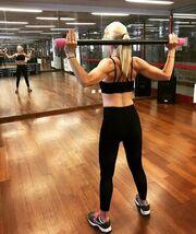 Έλενα Τσαβαλιά: Δείτε τη να «λιώνει» στο γυμναστήριο