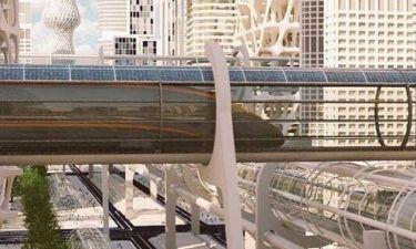 Ένα τραίνο από το μέλλον υπόσχεται να σας μεταφέρει από το Λονδίνο στο Εδιμβούργο σε 8 λεπτά (pics)