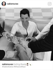 Σάκης Ρουβάς: Δείτε τι κάνει λίγο πριν τον γάμο του
