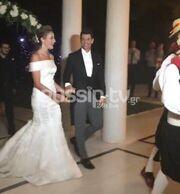 Γάμος Ρουβά-Ζυγούλη: Οι πρώτες φωτογραφίες από το γάμου του καλοκαιριού