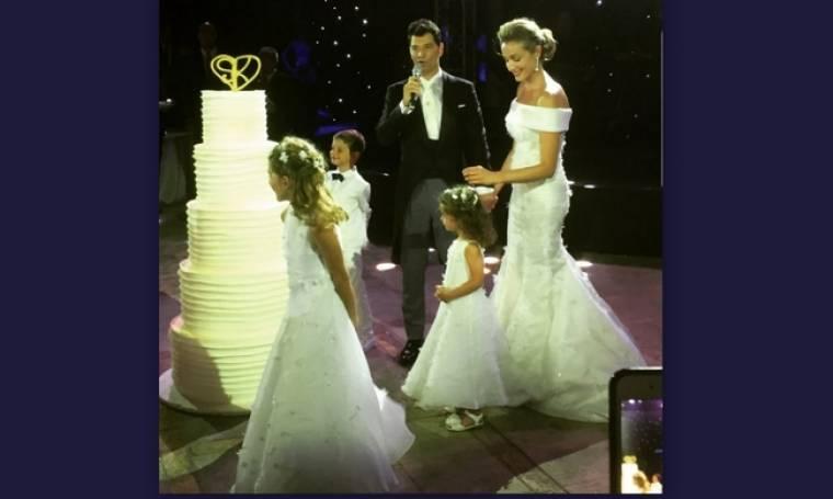 Γάμος Ρουβά-Ζυγούλη: Ο τρυφερός χορός με τα παιδιά τους
