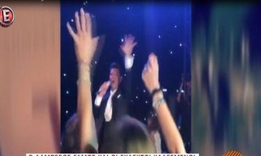 Ρουβάς-Ζυγούλη: Δείτε το πάρτι που ακουλούθησε μετά το γάμο τους, όταν ο Σάκης τραγούδησε!