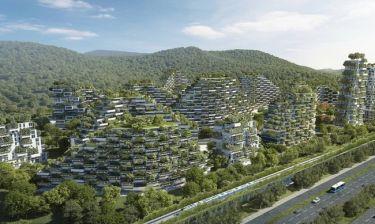 Κίνα: Πρωτοστατεί ενάντια στην ατμοσφαιρική ρύπανση με πόλεις δάση