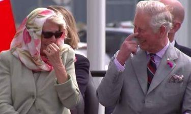 Καμίλα-Κάρολος: Ξεκαρδίστηκαν στα γέλια