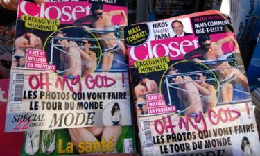 Kate-William: Ζητούν 1,5 εκατ. ευρώ από περιοδικό για τις γυμνές φωτογραφίες της Δούκισσας