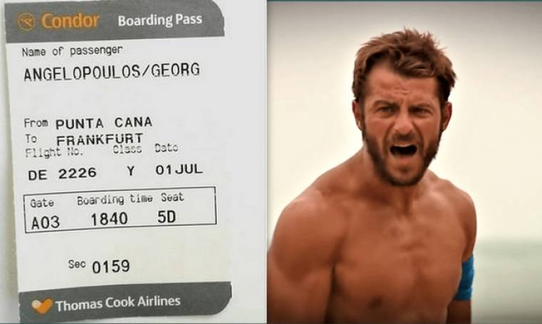 Survivor: Σε δημοπρασία το εισιτήριο επιστροφής του Ντάνου! Δεν φαντάζεστε πόσο πωλείται