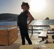Στον έβδομο μήνα της εγκυμοσύνης της η Παπαθωμά