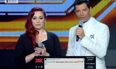 X-factor: Η Σούλα μπέρδεψε την κριτική επιτροπή