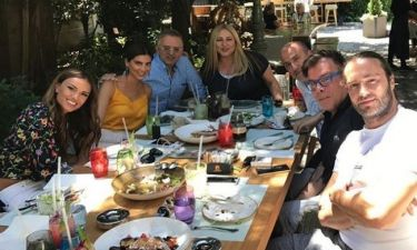 Σταματίνα Τσιμτσιλή: Το γεύμα με τους συνεργάτες της πριν το φινάλε του Happy Day