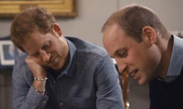 Για πρώτη φορά, William και Harry μιλούν για τη Diana και συγκινούν