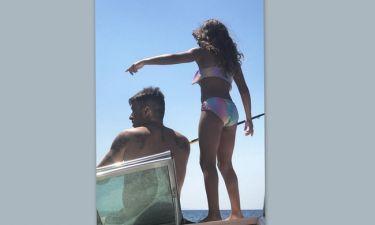 Γιάννης Αϊβάζης: Σκαφάτη βόλτα για πατέρα και κόρη