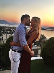 Βάσω Κολλιδά: Η τρυφερή φωτογραφία με τον άντρα της λίγο πριν τον γάμο