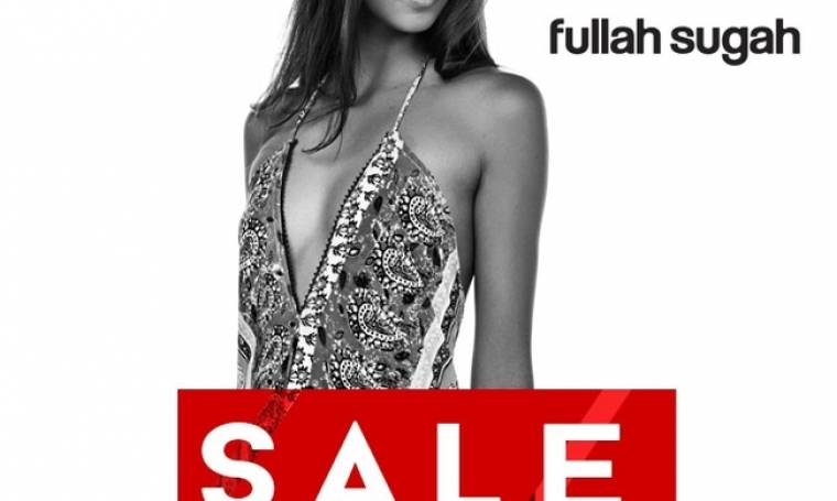Fullah Sugah: Οι εκπτώσεις ξεκίνησαν και είναι εντυπωσιακές, έως και 50%!