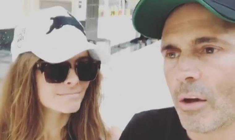 Maria Menounos: Το συγκινητικό βίντεο με τον σύντροφός της μετά το χειρουργείο