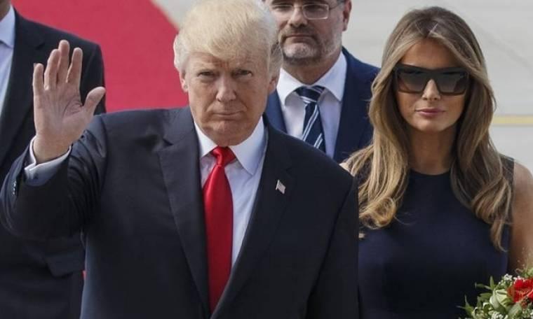 Μπλε αστακός και χρυσό χαβιάρι για το ζεύγος Τραμπ στο Παρίσι