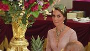 Η στιλάτη Βασίλισσα Letizia και η Kate Middleton με την τιάρα της Πριγκίπισσας Diana