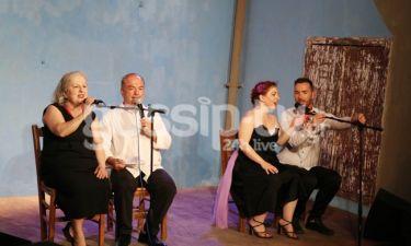 Ελένη Γερασιμίδου – Αντώνης Ξένος: Με την κόρη τους στη σκηνή