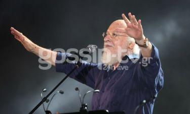 Όλα όσα έγιναν στη μοναδική συναυλία του Σαββόπουλου στο Καλλιμάρμαρο Παναθηναϊκό στάδιο