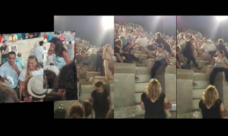 Η Κολιδά η Σάρα και το ξύλο στη συναυλία (Video) (Nassos blog)