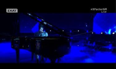 X-factor: Με πιάνο στη σκηνή ο Παναγιώτης Κουφογιάννης