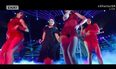 X-factor: Η διαφορετική εμφάνιση της Σούλας Ευαγγέλου