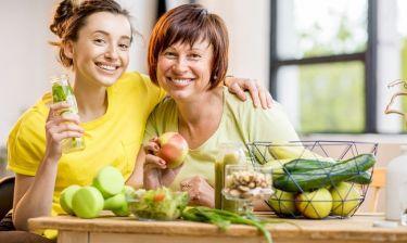 Τα οφέλη της υγιεινής διατροφής, ακόμη και αν κάποιος την υιοθετήσει στην τρίτη ηλικία