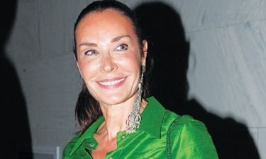 Σπάνια δημόσια εμφάνιση για την Τάνια Καψάλη