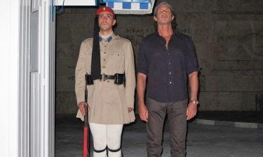Τσαντ Σμιθ: Βόλτες στο κέντρο της Αθήνας