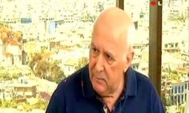 Γιώργος Παπαδάκης: «Κάποτε πληρωνόμουν υπερβολικά. Τώρα δικαίως μου έγινε μείωση μισθού 85%»