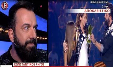 Κωνσταντίνος Ρήγος: Η δήλωση για την «εξαφάνιση» της Πάολα από τα βραβεία των MAD,που δεν περιμέναμε
