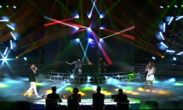 X Factor: Το ντουέτο της Μελίνας Μακρή με τον Παναγιώτη Κουφογιάννη