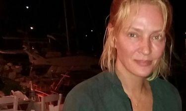 Uma Thurman: Η κορούλα της βολτάρει στις Σπέτσες (φωτό)