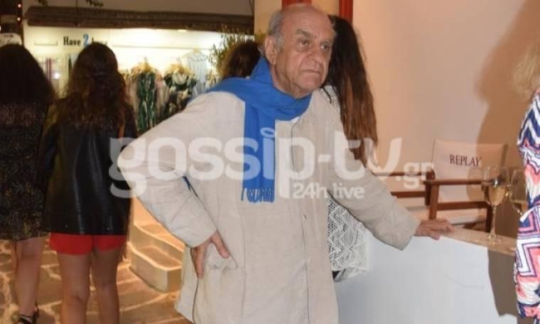 H έκθεση του Φασιανού με τον Αργεντίνο Segui στην Μύκονο