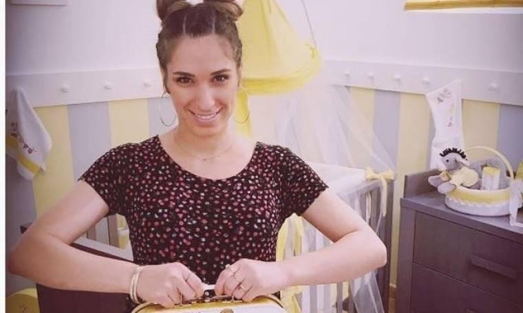 Αντιγόνη Ψυχράμη: Αυτό είναι το παιδικό δωμάτιο για το μωρό της