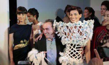 Fashion show από τον οίκο Λάσκαρη με μουσική του Ψαραντώνη