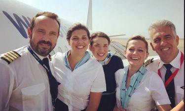 Ο Κώστας Μακεδόνας ως πιλότος