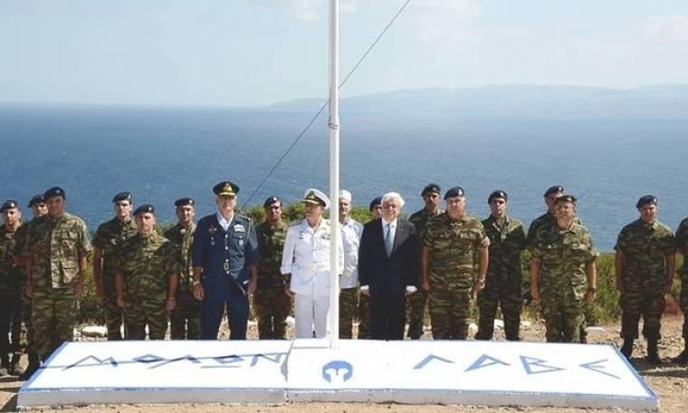 Προκόπης Παυλόπουλος προς την Τουρκία: Μολών λαβέ!