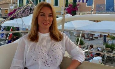 Η Τατιάνα Στεφανίδου στην Κεφαλονιά  (φωτό)