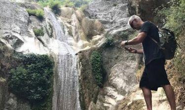 Αντώνης Νικοπολίδης: Οικογενειακές διακοπές στην Λευκάδα