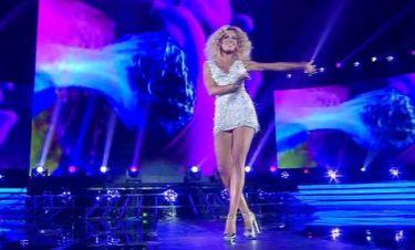X Factor: Η Ευαγγελία Αραβάνη έκανε το χατίρι του Σάκη- Πιο σέξι από ποτέ τραγούδησε on stage