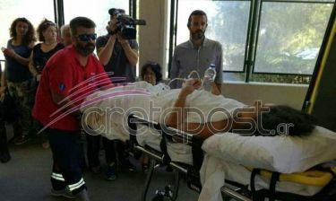 Ξέσπασε η τραυματίας που διακομίστηκε στην Κρήτη: «Να πάνε να πνιγούν οι πολιτικοί» (vid)
