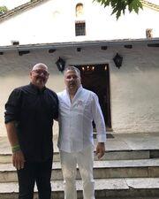 Γιώργος Λιάντος: Παντρεύτηκε με θρησκευτικό γάμο στο Πήλιο ο πρώην άντρας της Παπούλια (φωτο)