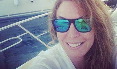 Η νέα φωτό της Στεφανίδου από τις διακοπές της – Με μίνι φόρεμα ποζάρει στο σκάφος της