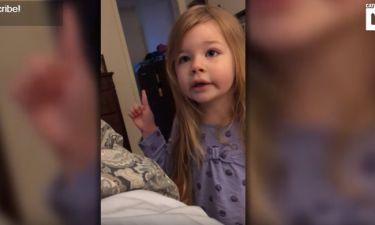 Το «αιώνιο» πρόβλημα: Έξαλλη η μικρή με το μπαμπά της, που δεν κατεβάζει το καπάκι της τουαλέτας