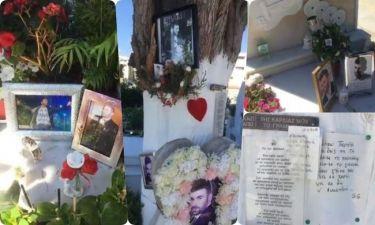 Στο νεκροταφείο σήμερα. Έτσι είναι ο τάφος του Παντελίδη (Εικόνες) (Nassos blog)