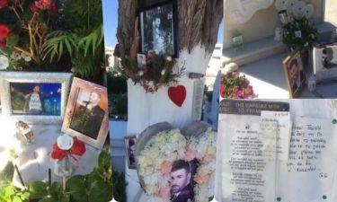 Έτσι είναι ο τάφος του Παντελίδη σήμερα (Εικόνες) (Nassos blog)