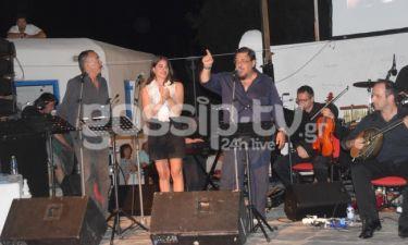 Μαχαιρίτσας-Βουλγαράκη στην συναυλία με μουσική και τραγούδια του Μίκη Θεοδωράκη